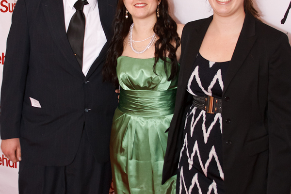 Nick Hartman, Tyfanni Rupert (Sponsor: Bliss Weddings and Events) and Emily George
