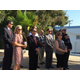 MBUSD officials and school board members observe the ceremony