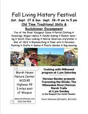 Medium living history flyer general public
