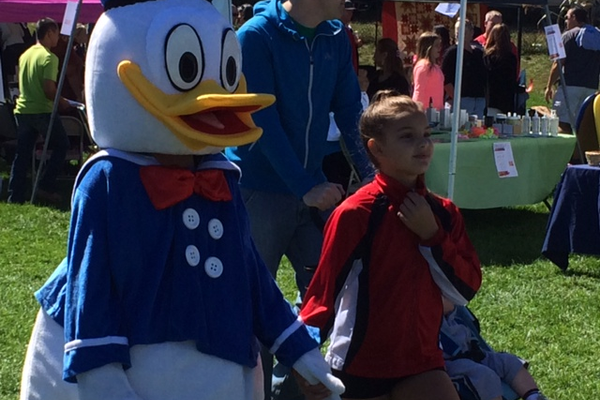 Donald Duck made an appearance.